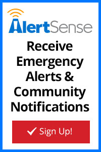 Sign up to receive emergency alerts and community notifications image